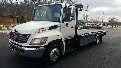2010 Hino 258 Ar/ab Lcg Rollback , Loaded With Options 1 Owner , Very Nice Look.