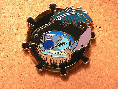 Stitch Disney Pin - Pirates Mystery Collection - Stitch as Captain Barbossa