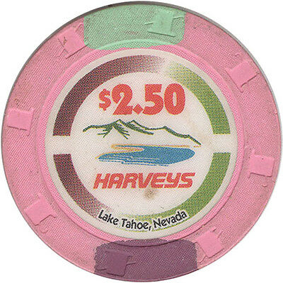 Harvey's - $2.50 Casino Chip