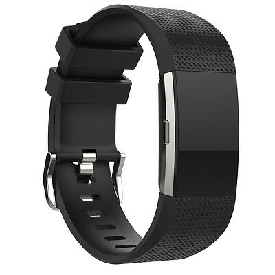 New Fashion Sports Silicone Bracelet Strap Band For Fitbit Charge 2  HOT
