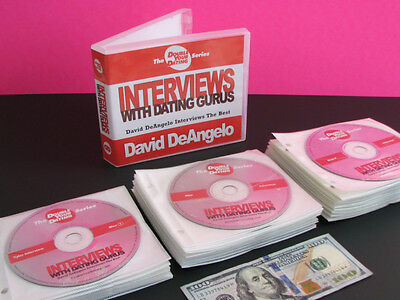 David DeAngelo Double Your Dating DYD Interviews Pickup Gurus CD Collection