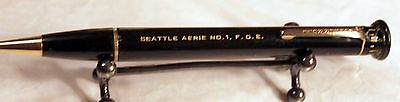 ROLLER RULE Vintage  MECHANICAL PENCIL WITH OPISOMETER FOE #1 Eagles Seattle