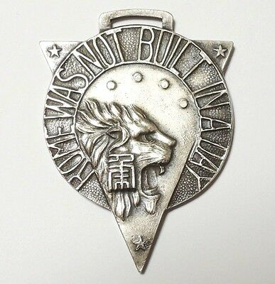 Vintage Japanese Tokyo Youth Wing Judo Tournament Medal Badge Pins 1931