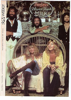 """1978 Fleetwood Mac """"A Million Records Later"""" Magazine Cover"""