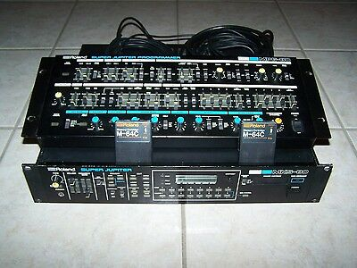 ROLAND - MKS-80 / MPG-80 With 2 M-64C Memory Cartridges & Manuals - Pick Up Only