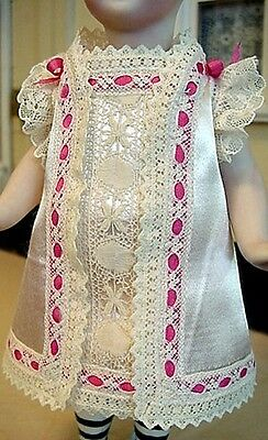 """Mignonnette Dress to fit 6 1/2-7 1/4"""" All Bisque Doll"""