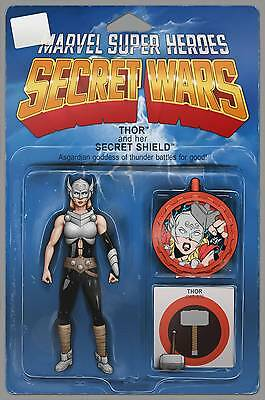 THORS #1, ACTION FIGURE VARIANT, New, First print, Marvel Comics (2015)