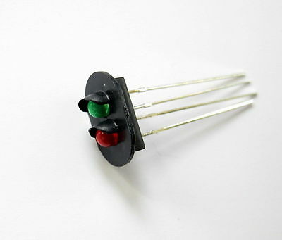 JTD07 10pcs Signal Heads With 3mm LEDs for railway signal HO or OO Scale NEW