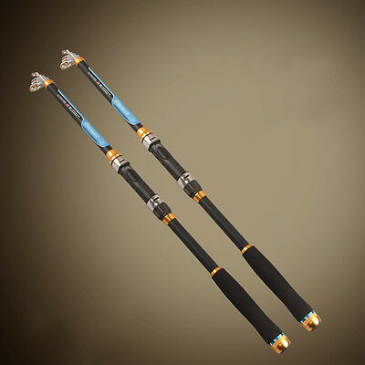 Telescopic Fishing Rods 2016 New Carbon Fish Pole Equipment Spinning Rod