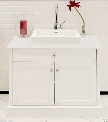 VANITY BATHROOM 900mm  UNIT WITH  FREE FAUCET WITH STONE BENCH TOP