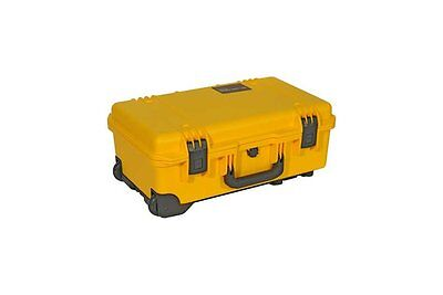 Peli Storm iM2500 Airline Carry On Case With Dividers YELLOW