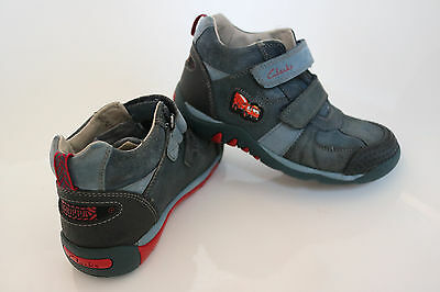 Clarks Boys Leather Shoes Boots UK 11.5 F EUR 29.5