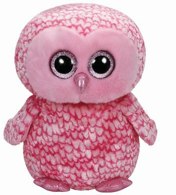 TY beanie boos Stofftier Plüschtier Pinky X Large Eule pink 42cm Kinder
