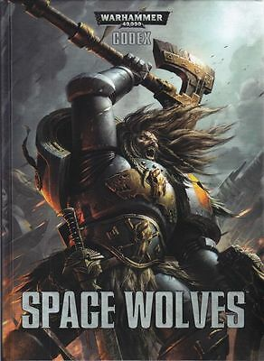 Codex: Space Wolves (Hardcover, englisch)