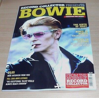 Record Collector magazine presents David Bowie Through the Music; the Archives &
