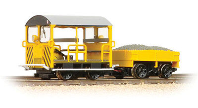 Bachmann 32-993 Wickham Type 27 Trolley Car BR Engineers Yellow W/Stripes