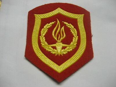 Soviet Army Patch Honor Guard At Memorial Service