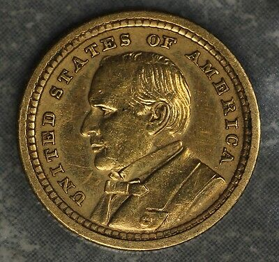 1903 Louisiana Purchase McKinley $1 Gold Commemorative - Almost Uncirculated!