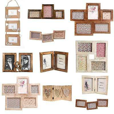 Vintage Style Large Wooden Multi Photo Picture Frame Home Decoration Frames Gift
