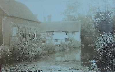 THE RIVER BLACKWATER BY COGGESHALL ABBEY ESSEX c1905 RP PC