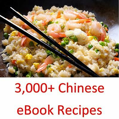 3,000+ Chinese eBook Cookbooks & Recipes On One DVD Rom