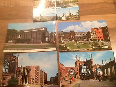 5 X 1960s Cards Coventry