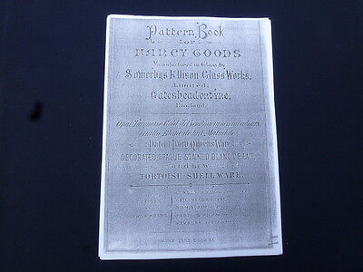 A copy of the 1882 Sowerby pressed glass catalogue