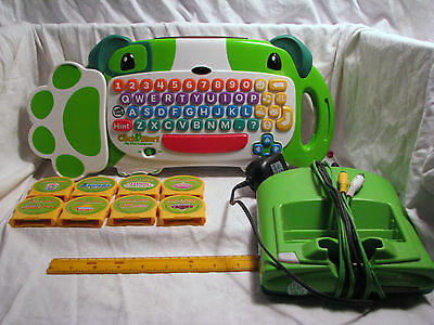 Leap Frog - Click Start set - My First Computer - includes 8 games