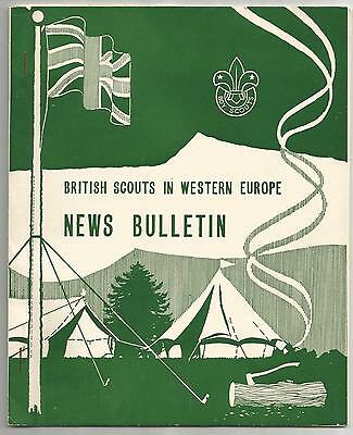 News Bulletin British Scouts In Western Europe June 1960 Boy Scouts