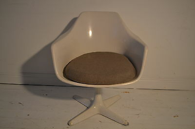 STUNNING SPACE AGED ARKANA DINING TUB DESK CHAIR - 1970's