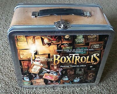 The Boxtrolls  movie promo  Lunchbox / not for retail sale PROMOTIONAL ITEM
