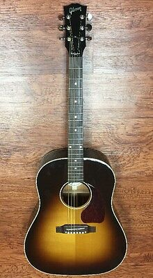 GIBSON 2016 J-45 Standard VS Vintage Sunburst Acoustic Guitar w/case  (DS)