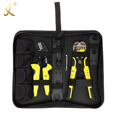 Professional Crimping Tool Wire Stripper Crimper Pliers Kit for MC4 Solar Panel