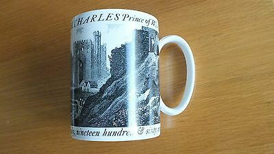 Prince of Wales Investiture Mug, Wedgwood, designed by Carl Toms
