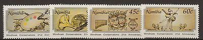 Namibia:1992:21st Anniversary of Windhoek Conservatoire,Set.MNH.