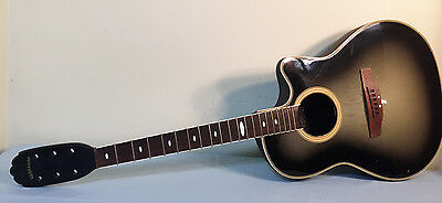 Applause Acoustic Electric Guitar Green Burst Project