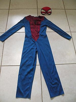Spiderman Toddler Boys Halloween Costume With Mask Size S/P (4-6)