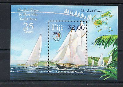Fiji:2004:One Yatch,Joint Issue with Vanuatu,M/S,MNH.