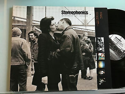 LP UK 1999 NM  Stereophonics ‎– Performance And Cocktails