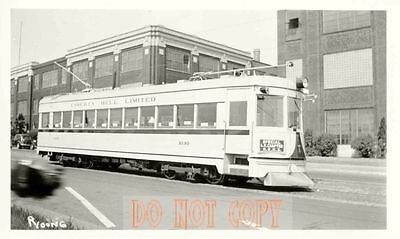 6F049 Rp1941 Lehigh Valley Transit Liberty Bell Limited Car 1030 Nhrs Lv Special