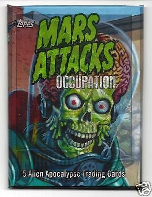 Mars Attacks Occupation*HOT PACK* 1 SKETCH OR METAL CARD + 4 CHASE OR PARALLEL