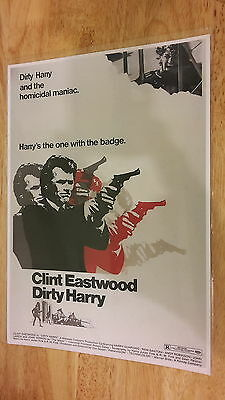 Clint Eastwood - Dirty Harry  12X8 Signed    Print