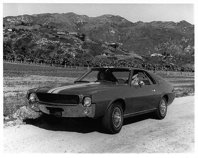 1968 AMC AMX ORIGINAL Factory Photo oad7572