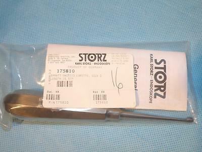 STORZ 175810 Spratt Mastoid Curette, Size 0, NEW