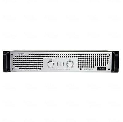 SAE Digital TX1200 PA DJ Power Amplifier 2 Channel 5100 Watts R.SMPS