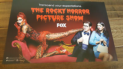 2016 Sdcc Comic Con Exclusive Fox Promo Poster The Rocky Horror Picture Show