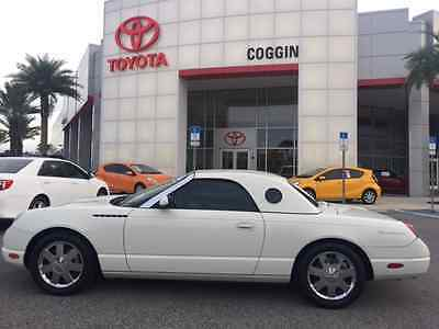 2002 Ford Thunderbird Base Convertible 2-Door GREAT SHAPE, BEAUTIFUL CAR, 2 TOPS AND STAND.