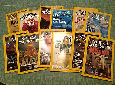 National Geographic Magazine - 2007 Lot Of All 12 Issues Complete