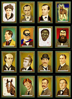 Arthur Conan Doyle Characters  Sherlock Holmes trading cigarette cards  pack