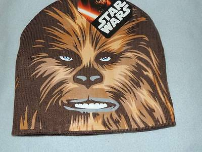 Disney Star Wars Chewbacca Kids Beanie Hat New!